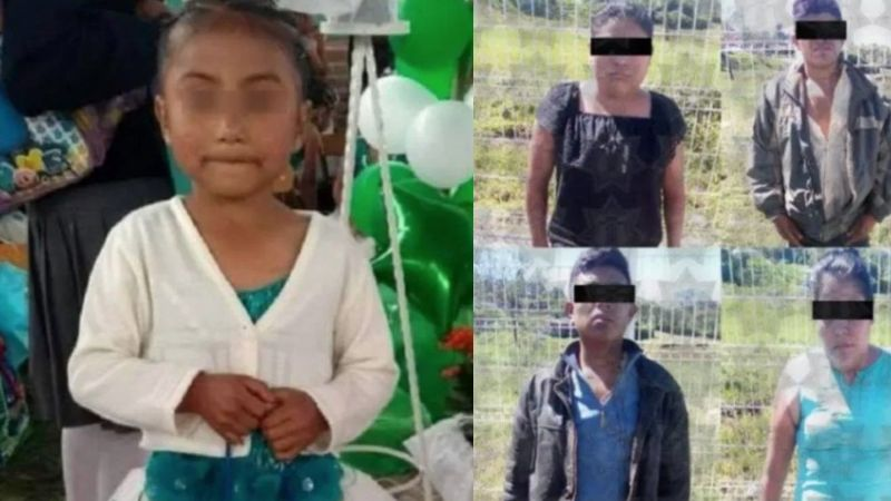 Tenía 6 años: Flor Itzel acabó muerta en barranco; sus tías la secuestraron y mataron de un tiro