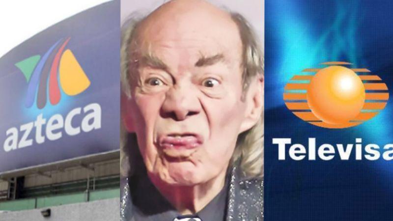 Tras veto de Televisa y TV Azteca, actor revela que hijo del 'Loco' Valdés le envió fotos íntimas