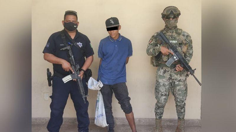 Por presunto robo con violencia, aprehenden a joven en Ciudad Obregón