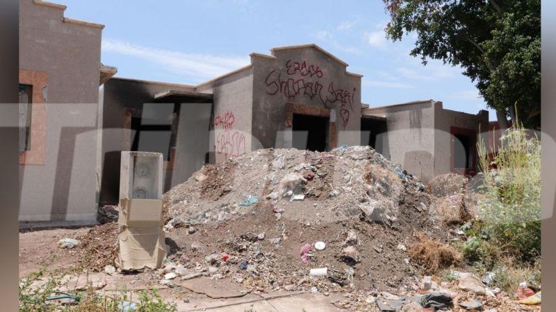 Ciudad Obregón: Ciudadanos piden a autoridades atención a las casas abandonadas