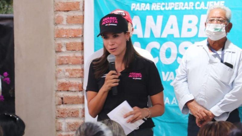 Cajeme: Anabel Acosta se reúne con vecinos del Campo 5 y promete devolver la seguridad