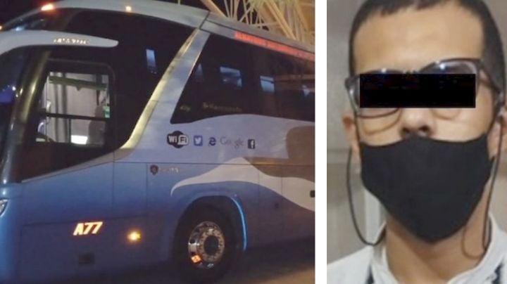Capturan a sujeto en carretera de Sonora; viajaba en autobús con casi un kilo de heroína