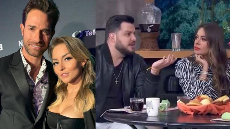 Tensión en Televisa: Elenco de 'Hoy' habla de los 'celos' de Sebastián Rulli a Angelique Boyer