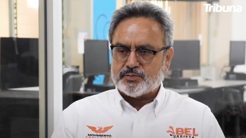 """VIDEO: """"Yo voy en serio, y también voy sin miedo"""": Abel Murrieta en entrevista con TRIBUNA"""