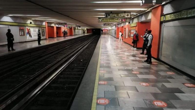 Terror en el Metro: Usuarios reportan presencia de humo en la estación Tlatelolco