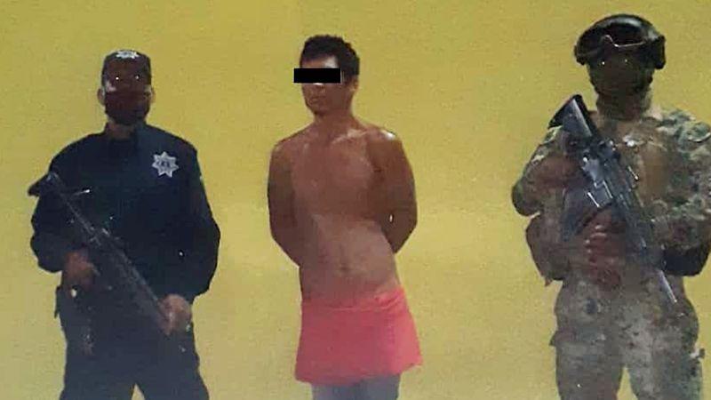 Aprehenden a ladrón en escuela de Ciudad Obregón; intentó llevarse un escritorio