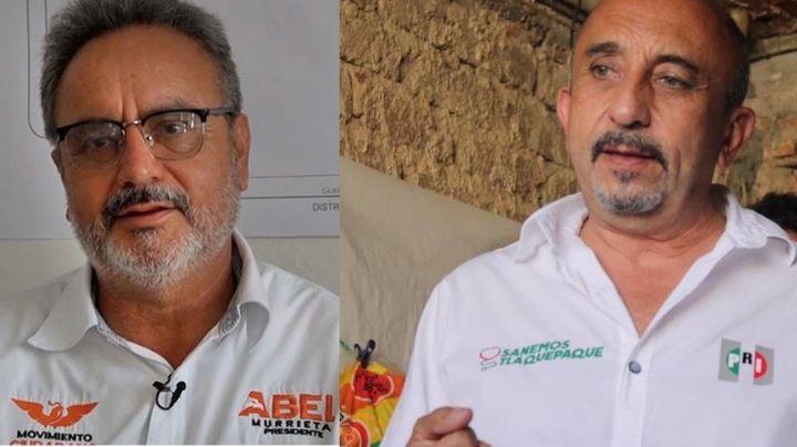 Tras el brutal asesinato de Abel Murrieta, protegen a candidato del PRI por Tlaquepaque que fue atacado