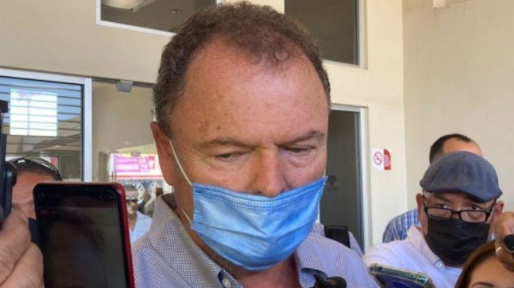 """Ernesto Gándara suspende campaña por el asesinato de Abel Murrieta: """"Vengo a estar con mi amigo"""""""