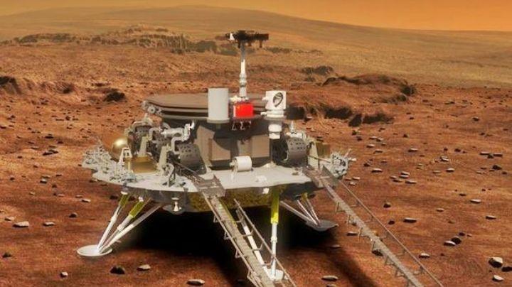¡Insólito! China conquista Marte y lo hace al enviar su propio vehículo Rover
