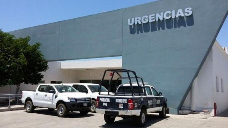 Menor de edad resulta lesionado del rostro tras jugar con un arma en Guaymas