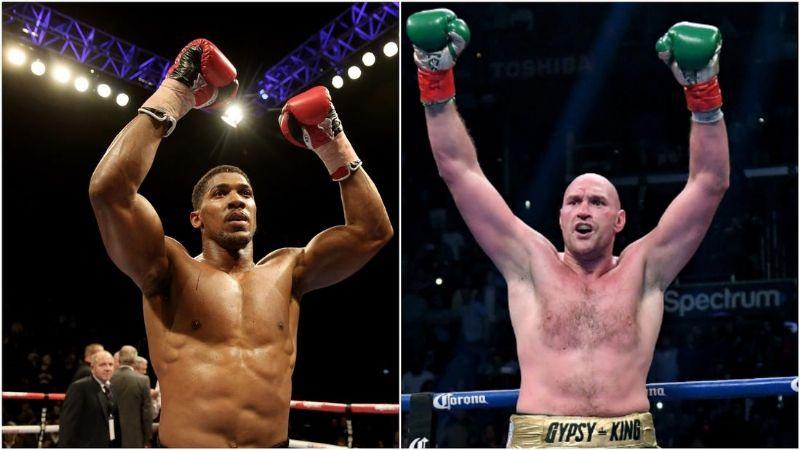 Anthony Joshua y Tyson Fury llegan a un acuerdo para unificar en la división de los completos