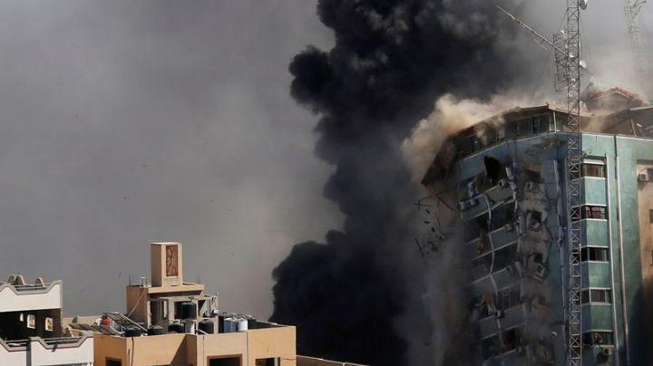 Israel bombardea sede de los medios de comunicación internacionales BBC, AP y Al Jazeera