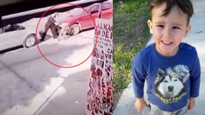 FUERTE VIDEO: ¡Tragedia! Pareja atropella a Ciro y lo mata frente a su madre; tenía solo 4 años