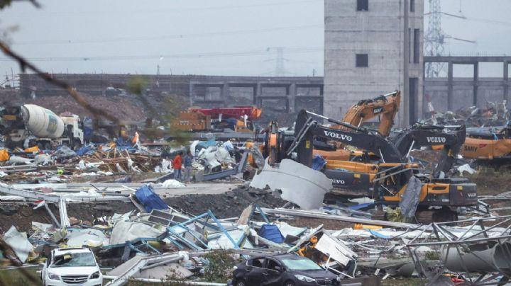 Terror en China: Tornados matan a 12 personas y provocan pérdidas millonarias en el país