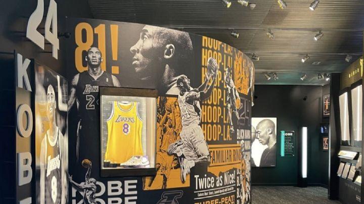 ¡Conócela! Así luce la exhibición de Kobe Bryant en el Salón de la Fama de Básquetbol