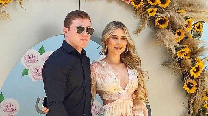 ¡Entérate! 'Canelo' Álvarez y Fernanda Gómez se casan y así fue el evento