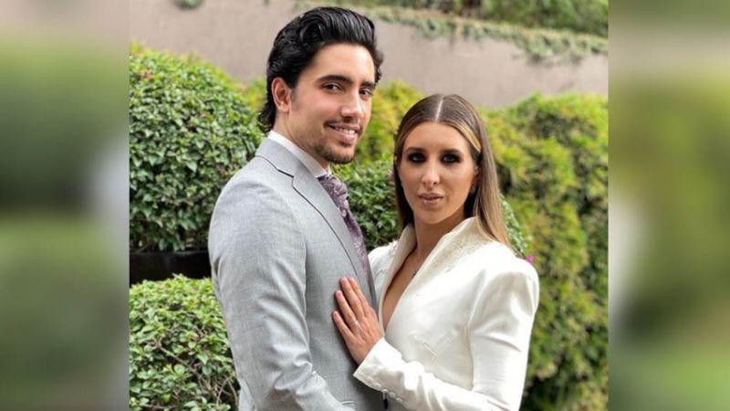 ¡Sin Vicente Fernández! Así se vivió la mágica noche de bodas de Alex Fernández