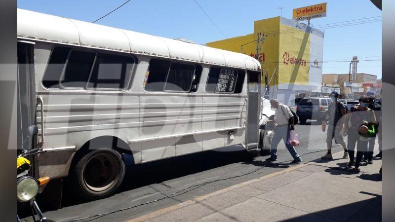UBR reporta camiones obsoletos y sin accesibilidad para discapacitados en Guaymas
