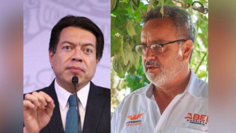 Mario Delgado afirma que podría existir un interés político en el homicidio de Abel Murrieta