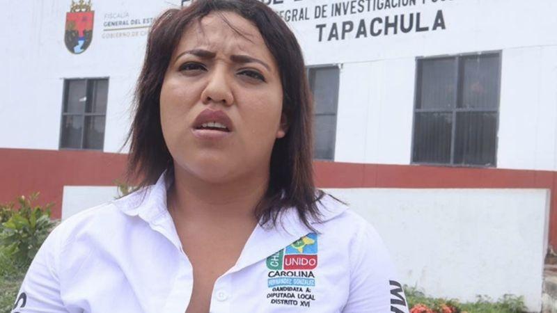 Aspirante a diputada de Chiapas denuncia amenaza con arma por parte de otro candidato