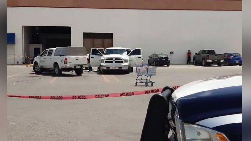 Ejecutan a tiros a un hombre al salir del supermercado; venía de hacer su mandado