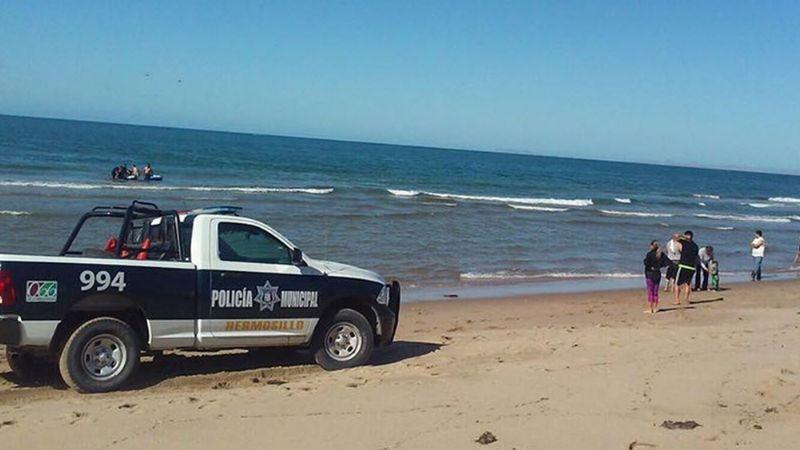 Pescadores hallan cuerpo flotante en mar de Sonora; estaba en avanzado estado descomposición