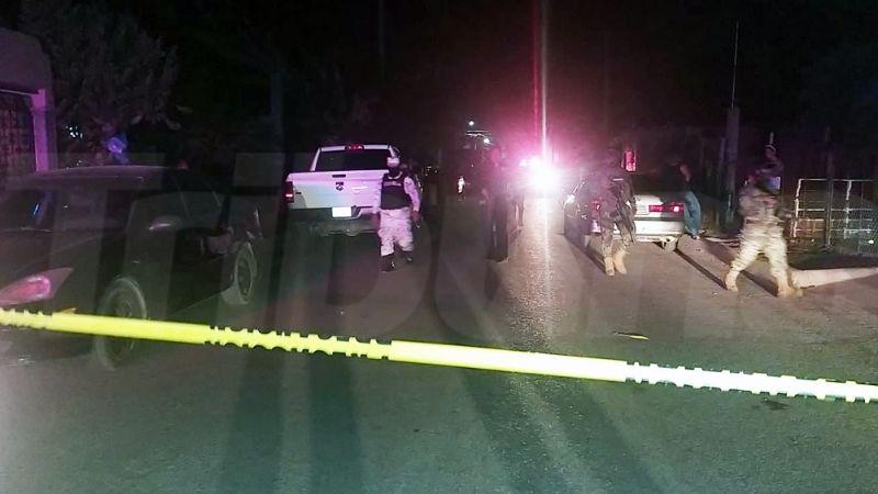 Gatilleros rafaguean vehículo al norte de Ciudad Obregón; el conductor fue hospitalizado