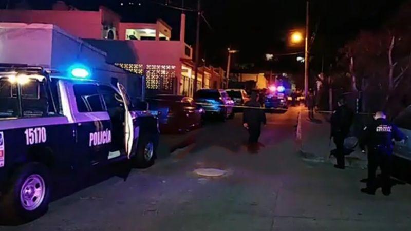 Noche violenta: Sicarios armados ejecutan a hombre en pleno centro de Guaymas