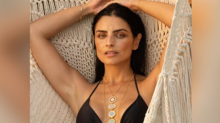 ¡Encantadora! En cautivador bikini, Aislinn Derbez sorprende a sus fans y enamora en Instagram