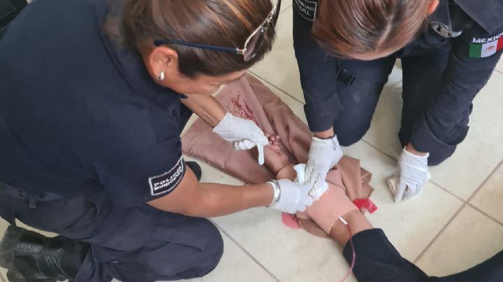 Guaymas: Para auxiliar a la población, SSP Sonora recibe curso Primer Respondiente de Cruz Roja
