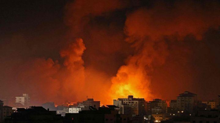 Israel bombardea residencia del jefe político de Hamás; arrojaron 12 misiles