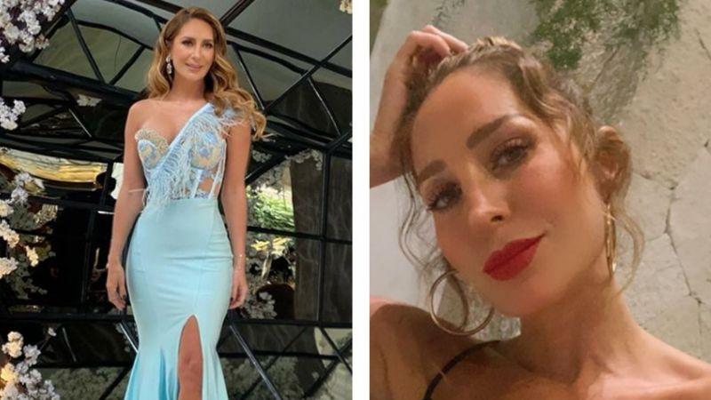 """Geraldine Bazán 'derrite' a Instagram al lucir seductor bañador desde playas de Tulum: """"Chiquita"""""""