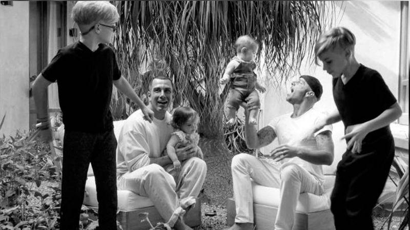 Esposo de Ricky Martin enternece Instagram al presumir a Renn, su hijo con el cantante