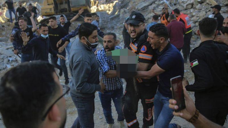 Milagro en plena guerra: Hallan vivo a bebé en escombros por ataque de Israel; toda su familia murió