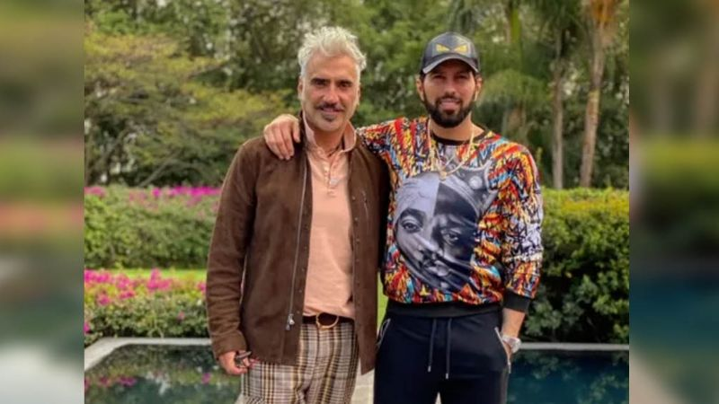 Tras colarse a la boda de Alex Fernández, Poncho De Nigris revela FOTOS no vistas con 'El Potrillo'