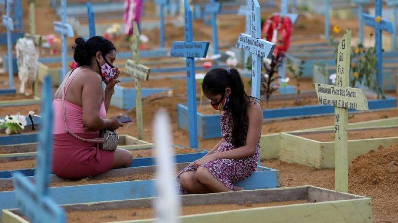 (FOTO) Lento pero seguro: India comienza a disminuir los casos diarios de Covid-19
