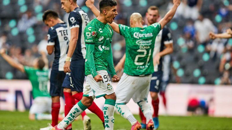 Santos Laguna avanza a semis y deja fuera al Monterrey del 'Vasco' Aguirre