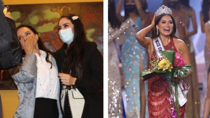 ¡Casi lloró! Lupita Jones reacciona a triunfo de México en Miss Universo y felicita a Andrea Meza