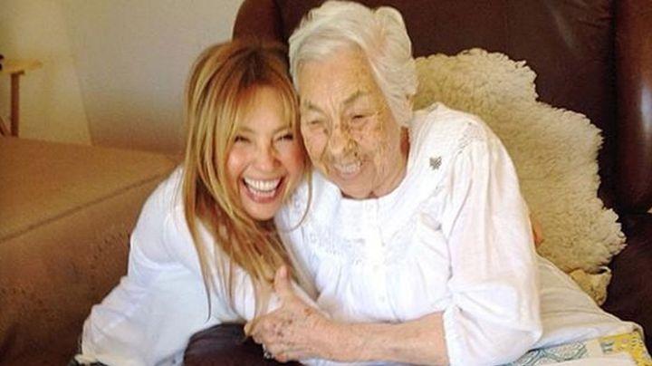 """Thalía revela en 'Hoy' detalles de la delicada salud de doña Eva Mange: """"El roble sigue adelante"""""""