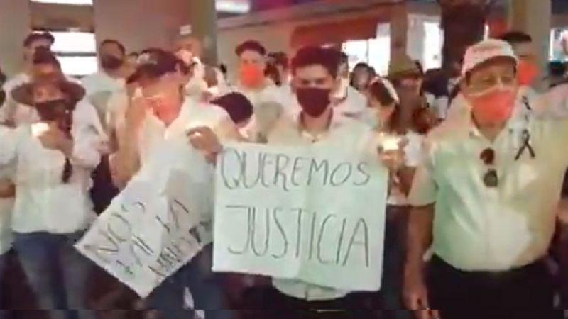 Marcha por la paz opaca debate de Hermosillo; exigen justicia por asesinato de Abel Murrieta
