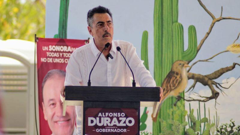 Lamarque Cano reinicia campaña en Cajeme pero con cautela; realiza eventos privados