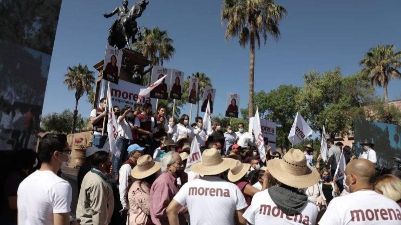 Candidatos de Morena, los que gastan más de lo que reciben durante campaña electoral