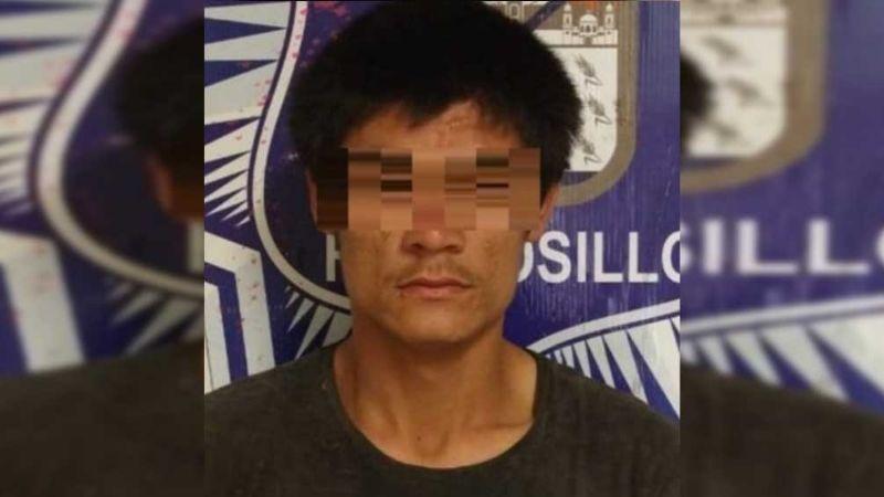Por acuchillar a su propio padre, detienen a joven de 22 años en Hermosillo