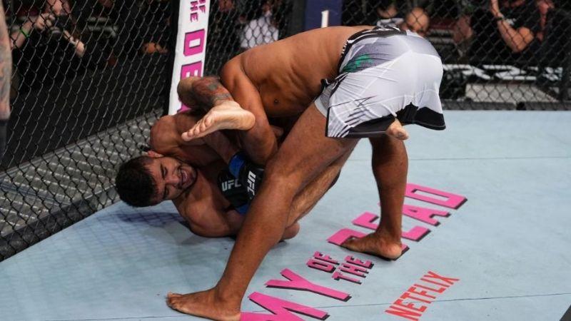 VIDEO: ¡Golpe bajo! Pelea de la UFC termina con una fractura; rival lo hizo a propósito