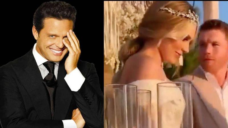 Luis Miguel le hace rotundo desprecio a Saúl 'Canelo' Álvarez y lo deja 'plantado' el día de su boda