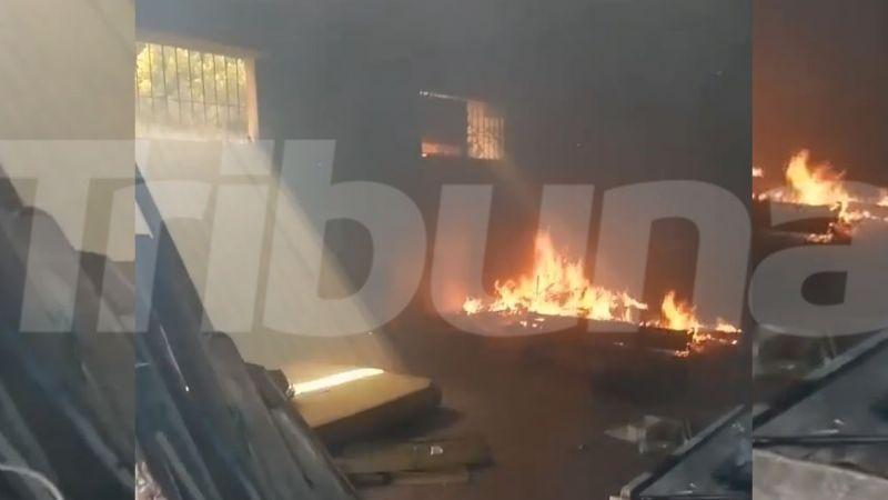 Malvivientes provocan incendio en una vivienda abandonada de Guaymas