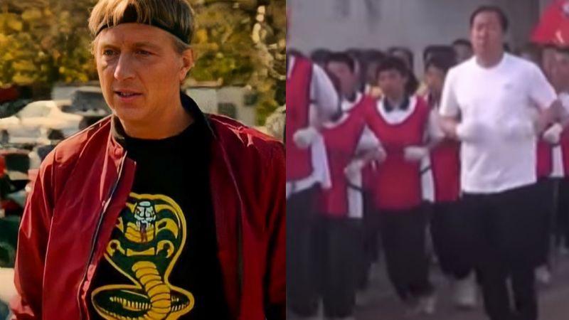 (VIDEO) De Netflix a las aulas: Maestro de educación física da clases al estilo 'Cobra Kai'