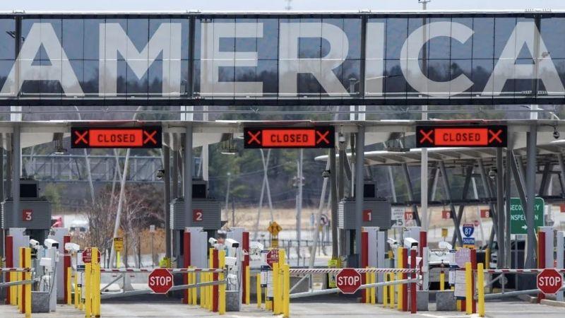 Covid-19: Extienden el cierre de las fronteras terrestres entre México, EU y Canadá