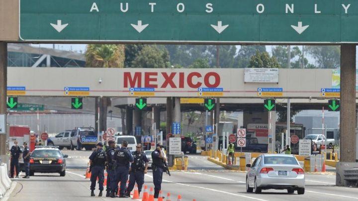 Covid-19: SRE confirma extensión del cierre de las fronteras terrestres entre México y EU