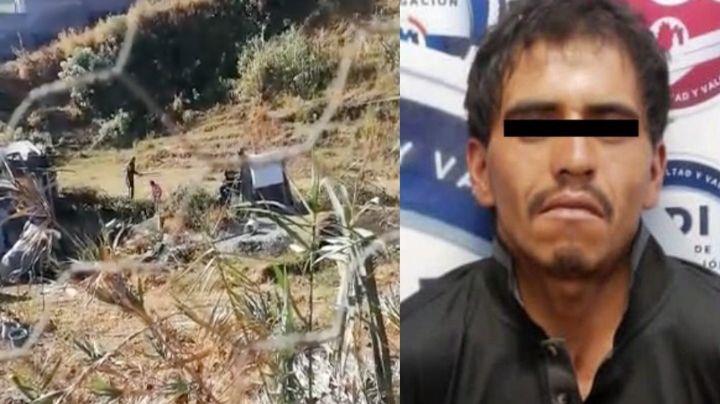 FUERTE VIDEO: A plena luz del día, José Ramiro da brutal golpiza con un palo a su hija de 6 años